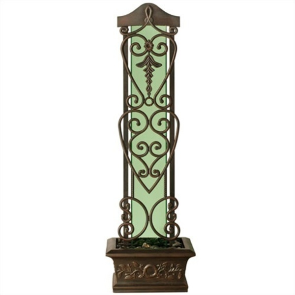"Copper Falls Water Trellis Fountain 75"" x 22.25"" by BluWorld of Water (VIWT8)"