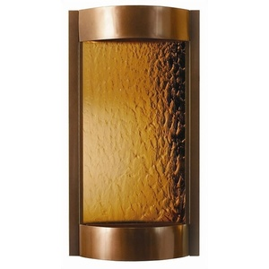 "Contempo Solare Wall Fountain 36"" x 19"" by BluWorld of Water (CS3DB)"