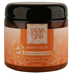 Bath Salts - Jasmine & ; Clementine 20 oz. 6 Pack - Gifts Wedding Favors Retail (7416BSJ-6)