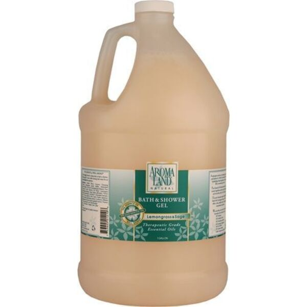 Bath & Shower Gel - Lemongrass & Sage 1 Gallon (741GSGS)