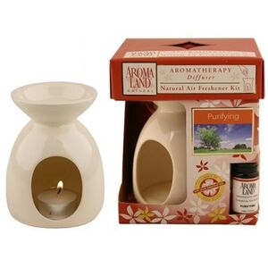 Aromatherapy Diffuser - Simplicity Latte with Purifying Blend 4 Pack - Gifts Wedding Favors Retail (10FSIML-4)