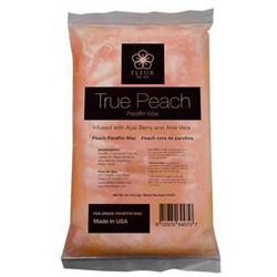 Fleur De Spa True Peach Paraffin Wax 1 Lb. Bars x 24 Bars = 24 Lbs. (F1010 X 4)
