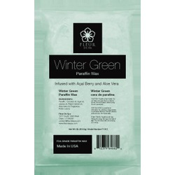 Fleur De Spa True Wintergreen Paraffin Wax 1 Lb. Bars x 24 Bars = 24 Lbs. (F1012 X 4)