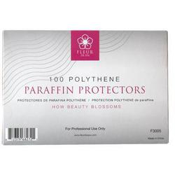 Fleur De Spa Polythene Paraffin Protectors 100 per Pack x 12 Packs = 1200 Protectors (F3005 X 12)