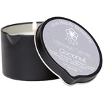 Fleur De Spa Massage Candle - Coconut 6 oz. Each - Case of 12 (CM2001 X 12)