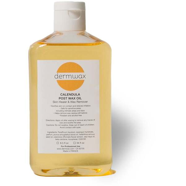 Dermwax Calendula Post Wax Oil 8.5 oz - 250 mL. - Case of 12 (D2015 X 12)