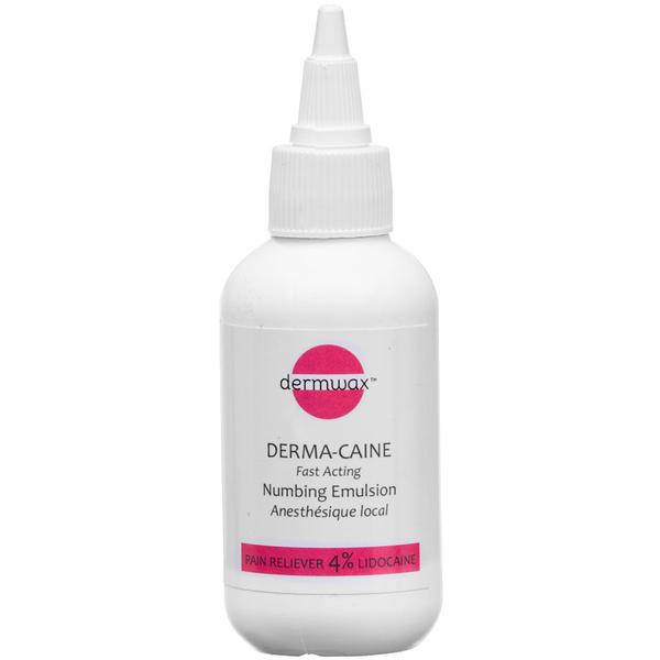 Dermwax Derma-Caine Numbing Emulsion 2.11 oz. - Case of 12 (D500 X 12)