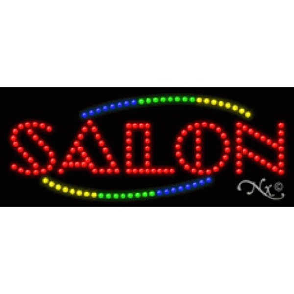 "LED Sign - Salon 11""H x 27""W x 1""D (20888)"
