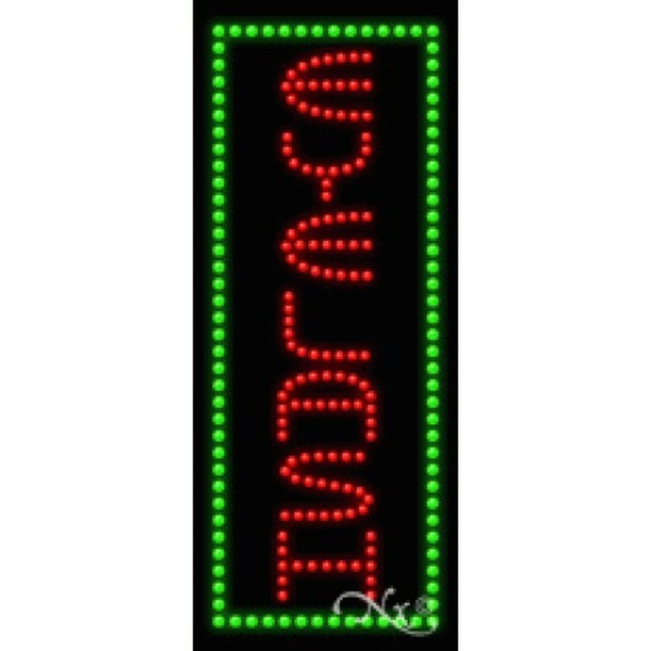 "LED Sign - Eyelash 27""H x 11""W x 1""D (21556)"