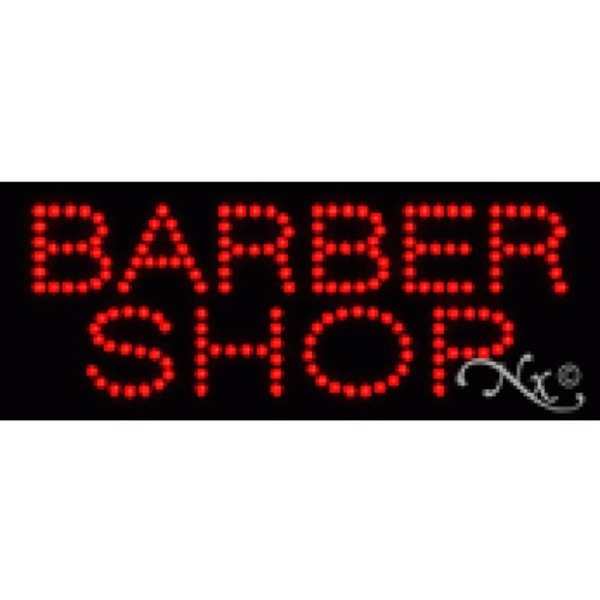 "LED Sign - Barber Shop 8""H x 20""W x 1""D (22013)"