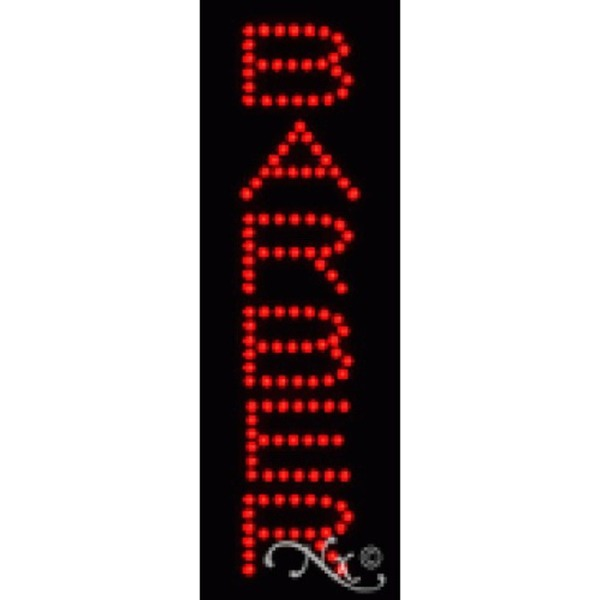 "LED Sign - Barber 21""H x 7""W x 1""D (22200)"