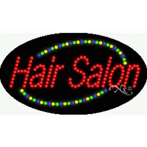 "LED Sign - Hair Salon 15""H x 27""W x 1""D (24004)"