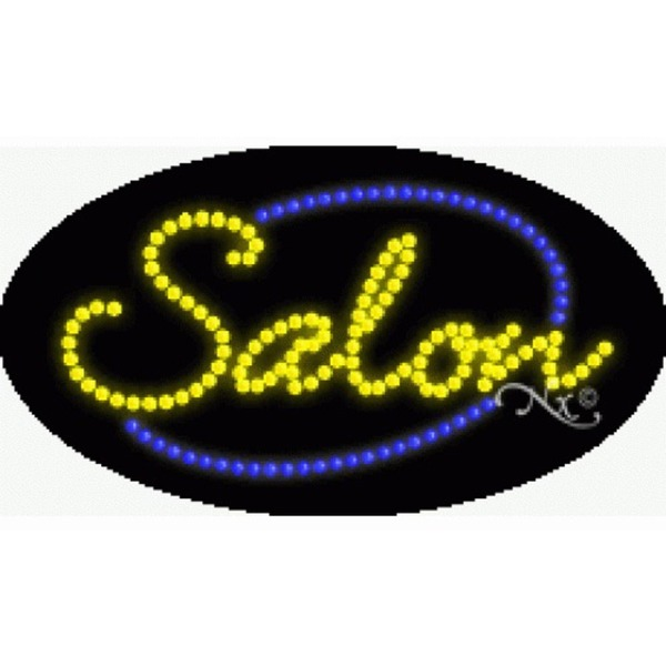 "LED Sign - Salon 15""H x 27""W x 1""D (24070)"