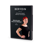BERODIN ADVANCED WAXING TECHNIQUES DVD: Male & Female Brazilian (30-7001)
