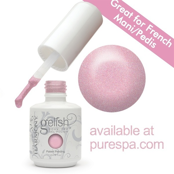 Gelish Color Coat: Light Elegant 0.5oz. - 15mL. - Gelish Soak Off Gel Nail Polish (01327)
