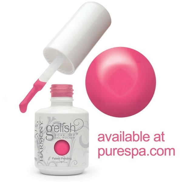 Gelish Color Coat: Passion 0.5oz. - 15mL. - Gelish Soak Off Gel Nail Polish (01331)