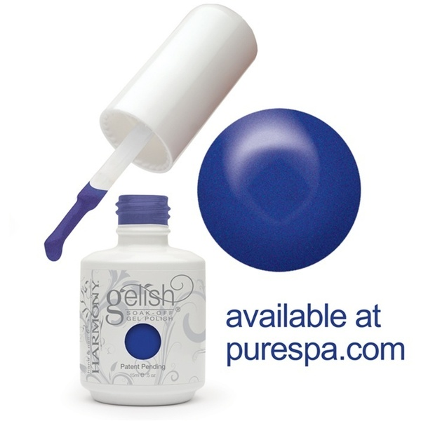 Gelish Color Coat: Ocean Wave 0.5oz. - 15mL. - Gelish Soak Off Gel Nail Polish (01364)