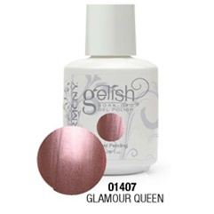 Gelish Color Coat: Glamour Queen / 0.5 oz. - 15 mL. - Gelish Soak Off Gel Nail Polish by Nail Harmony <font color=#FFFFFF>(01407)</font>