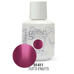 Gelish Color Coat: Tutti Frutti / 0.5 oz. - 15 mL. - Gelish Soak Off Gel Nail Polish by Nail Harmony <font color=#FFFFFF>(01411)</font>