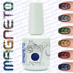Bundle of  New 6 Gelish Colors - Magneto 2012 - Gelish Soak Off Gel Nail Polish by Nail Harmony