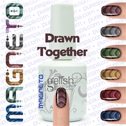 Gelish Magneto Collection - Drawn Together (Brown) Gelish + Matching Lacquer Kit