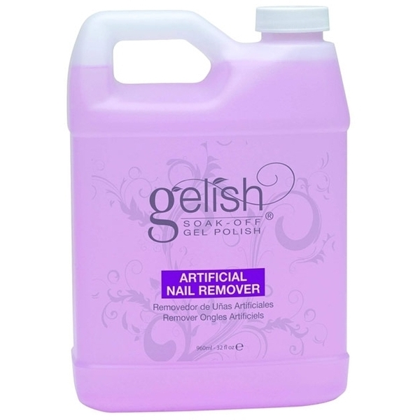 Gelish SOAK OFF Gel Remover / 32oz. - 960mL. by Nail Harmony