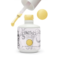 Gelish Color Coat: Don'T Be Such A Sourpuss 0.5oz. - 15mL. - Gelish Soak Off Gel Nail Polish by Nail Harmony (#01534)
