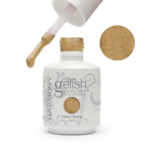 Gelish Color Coat: Danny'S Little Helpers 0.5oz. - 15mL. - Gelish Soak Off Gel Nail Polish by Nail Harmony (#01548)