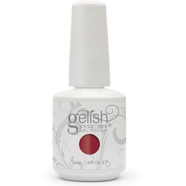 Gelish Color Coat: A Touch Of Sass 0.5oz. - 15mL. - Gelish Soak Off Gel Nail Polish by Nail Harmony (#01577)