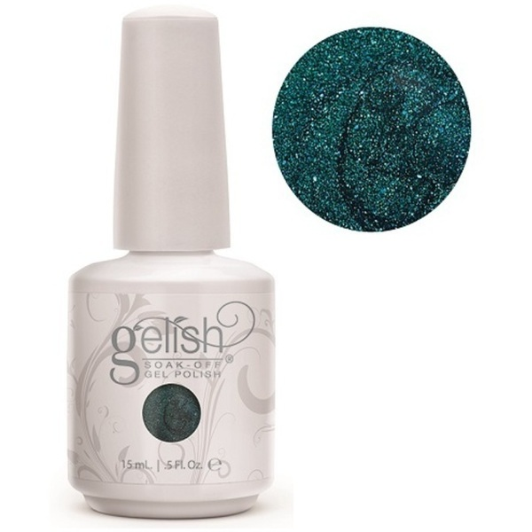 Gelish Color Coat: Race You To The Bottom 0.5oz. - 15mL. - Gelish Soak Off Gel Nail Polish by Nail Harmony (#01584)