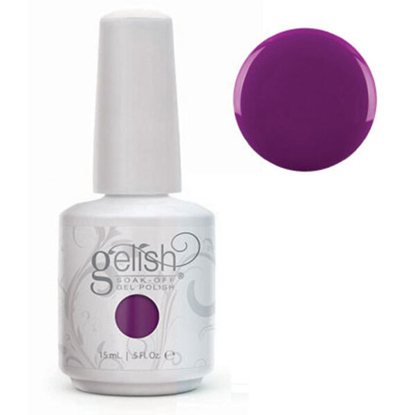 Gelish Color Coat: Tahiti Hottie 0.5oz. - 15mL. - Gelish Soak Off Gel Nail Polish by Nail Harmony (#01620)