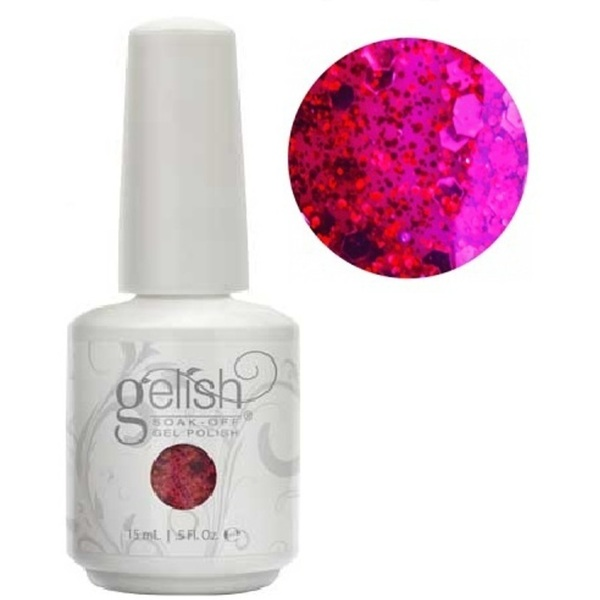 Gelish Color Coat: Life Of The Party 0.5oz. - 15mL. - Gelish Soak Off Gel Nail Polish by Nail Harmony (#01852)