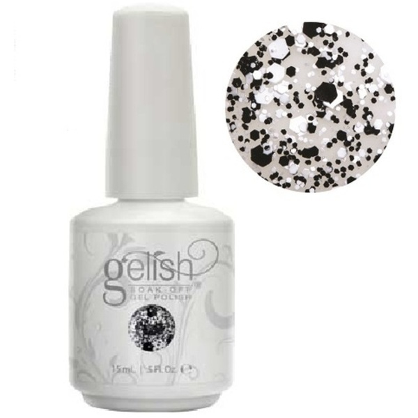 Gelish Color Coat: A Pinch Of Pepper 0.5oz. - 15mL. - Gelish Soak Off Gel Nail Polish by Nail Harmony (#01862)
