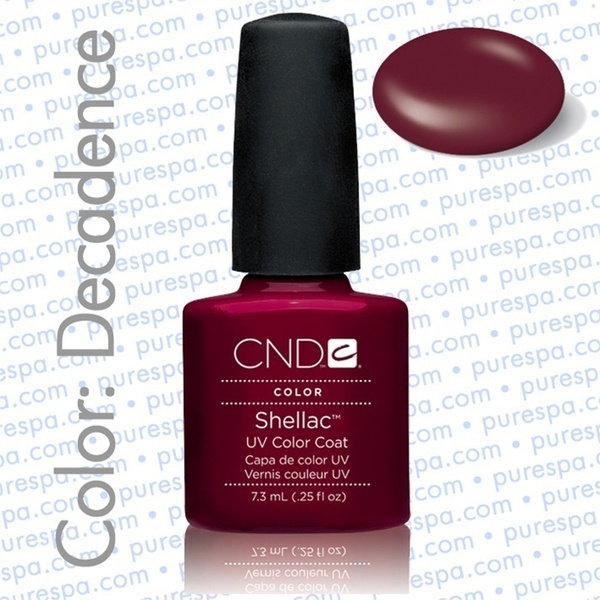 Pre-Order: CND Shellac Decadence 0.25 oz. - 7.3 mL - The 14 Day Manicure is Here! (685)
