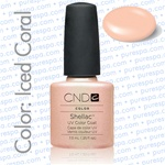 Pre-Order: CND Shellac Iced Coral 0.25 oz. - 7.3 mL - The 14 Day Manicure is Here! (689)