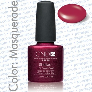 Pre-Order: CND Shellac Masquerade 0.25 oz. - 7.3 mL - The 14 Day Manicure is Here! (690)