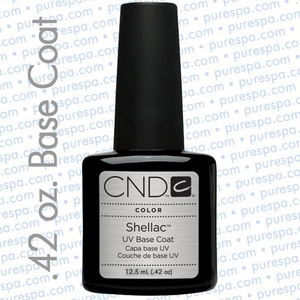 CND Shellac Base Coat 0.42 oz. / 12.5 mL - The 14 Day Manicure is Here