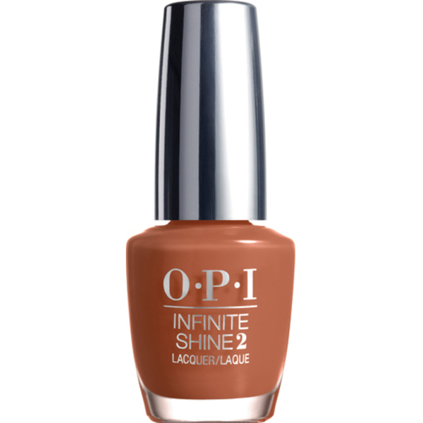 OPI Infinite Shine - Air Dry 10 Day Nail Polish - Brains & Bronze (IS L23)