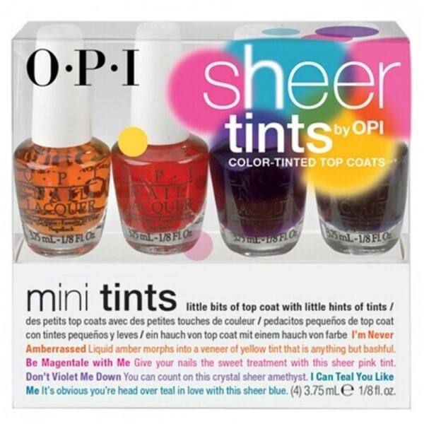 OPI Nail Lacquer - Sheer Tints Mini's (1005)