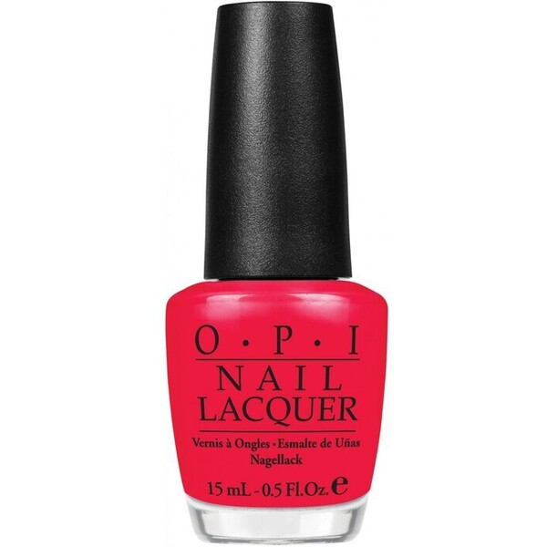 OPI Nail Lacquer - Red Lights Ahead Where 0.5 oz. (H61)