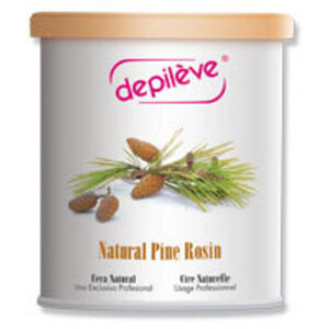 Depileve Strip Wax - Natural Pine Rosin 28 oz. (1032-NATURAL-PINE-WAX-28OZ)