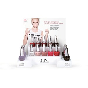 OPI Infinite Shine - Air Dry 10 Day Nail Polish - 16 Piece Counter Display (ISD16)