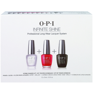 OPI Infinite Shine - Air Dry 10 Day Nail Polish - Salon Kit - 10 OPI Infinite Shine Colors + Base + Top (ISK05)