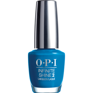 OPI Infinite Shine - Air Dry 10 Day Nail Polish - Summer 2015 - WILD BLUE YONDER - ISL41 0.5 oz. (ISL41)