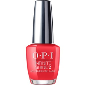 OPI Infinite Shine - Air Dry 10 Day Nail Polish - CAJUN SHRIMP - ISLL64 0.5 oz. (ISLL64)