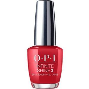 OPI Infinite Shine - Air Dry 10 Day Nail Polish - BIG APPLE RED - ISLN25 0.5 oz. (ISLN25)
