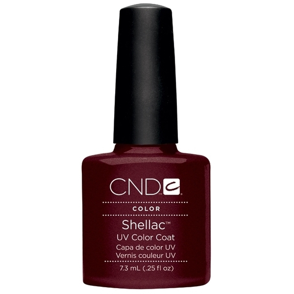 In Stock! CND Shellac 2012 Colors - Dark Lava / 0.25 oz. - 7.3 mL (736)