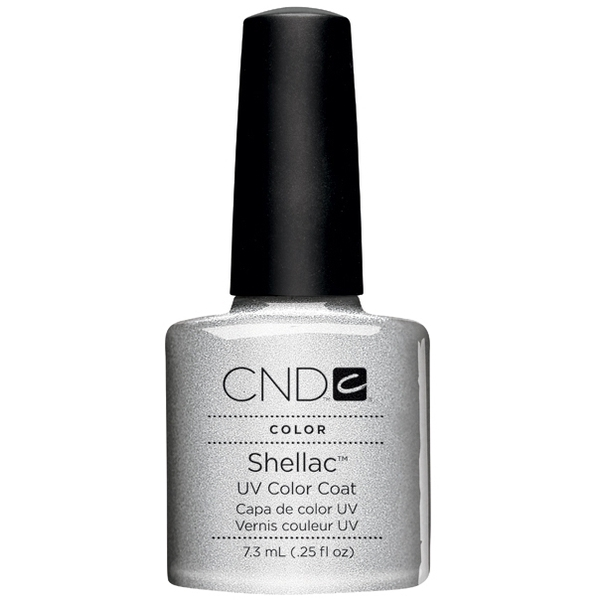 In Stock! CND Shellac 2012 Colors - Silver Chrome / 0.25 oz. - 7.3 mL (739)