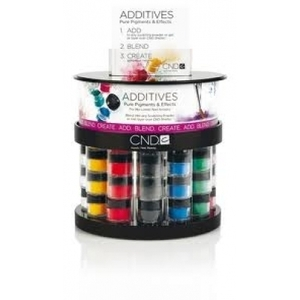 CND Color Additives Store Display Rack / 36 Pieces
