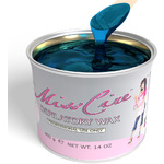 Miss Cire Blue Azulene - Soft Strip Wax - Ideal for Coarse Hair 14 oz. Can X 12 Cans = 1 Case (620600 X 12)